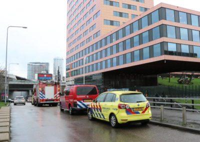 Bombrief gaat af bij hoofdkantoor ING in Amsterdam