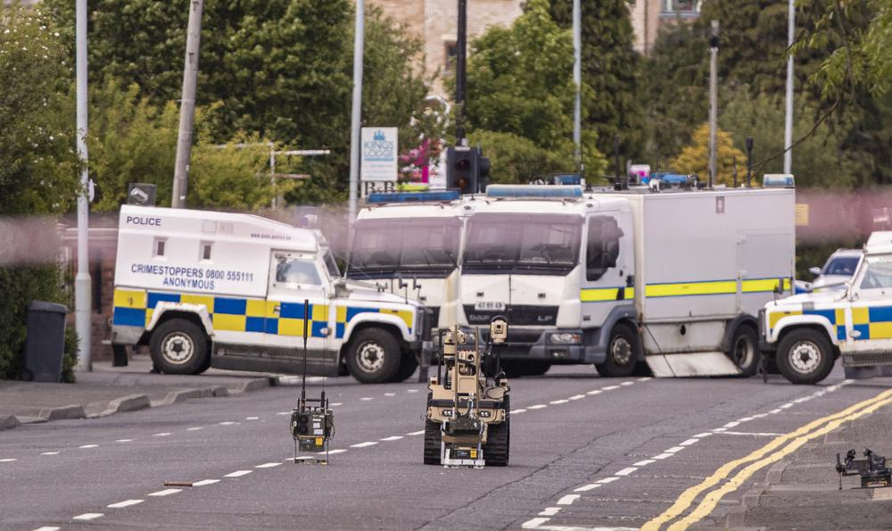 Viable device discovered during Belfast security alert 2