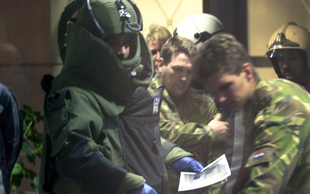 Beveiliging onderschept bombrief bij Eurojust